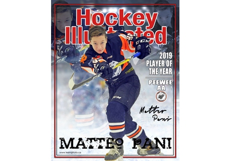Hockey Magazine Cover